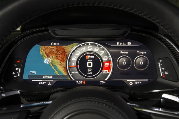 2017 Audi R8 V10 Plus Digital Cluster Automachi Com