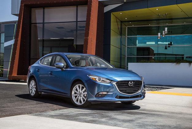 2017 KBB 十大酷车,Mazda3和Civic FC再度入围!