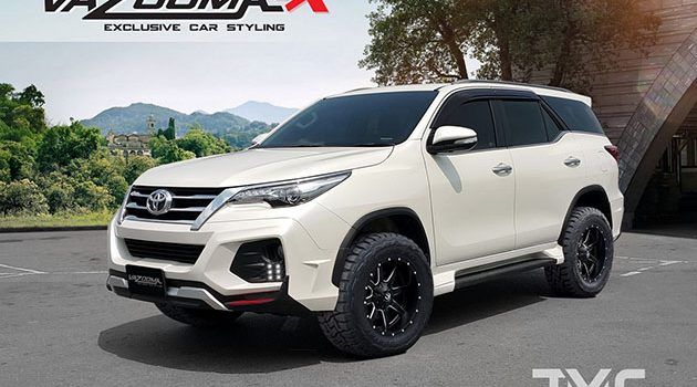 Toyota Fortuner Vazooma-X body kit 登场!