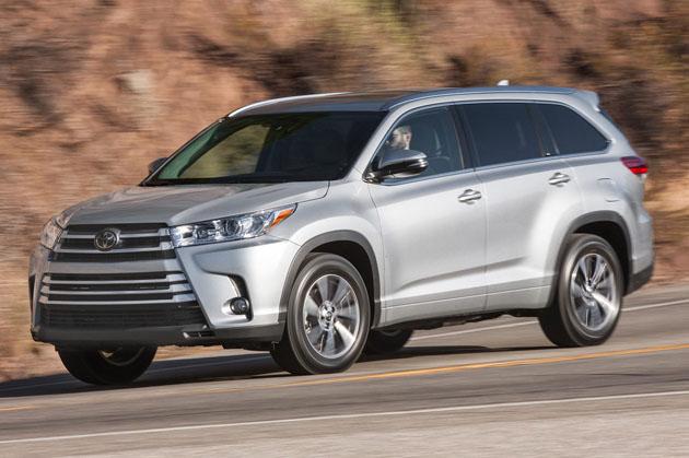 美国十大畅销 SUV ,前三都是日本车!
