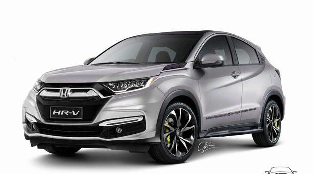 Honda HR-V facelift 2018年登场,VTEC Turbo有望?