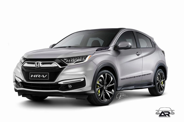 Honda HR-V facelift 2018年登场,VTEC Turbo有望?