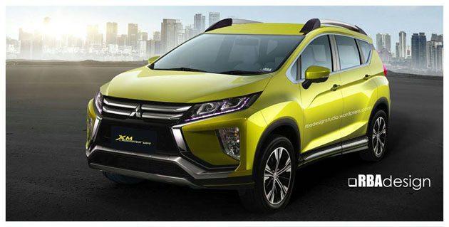 Mitsubishi XM Crossover 现身!会长亲自试驾!