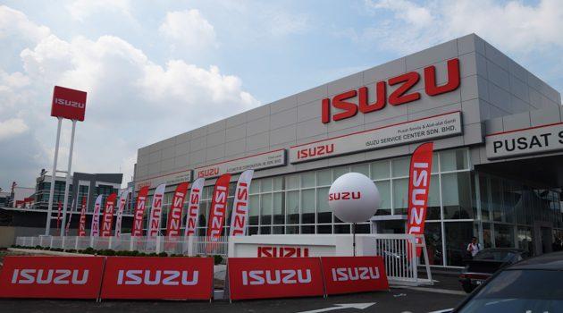 Isuzu Malaysia 旗舰售后服务中心开幕,应对市场增长需求。