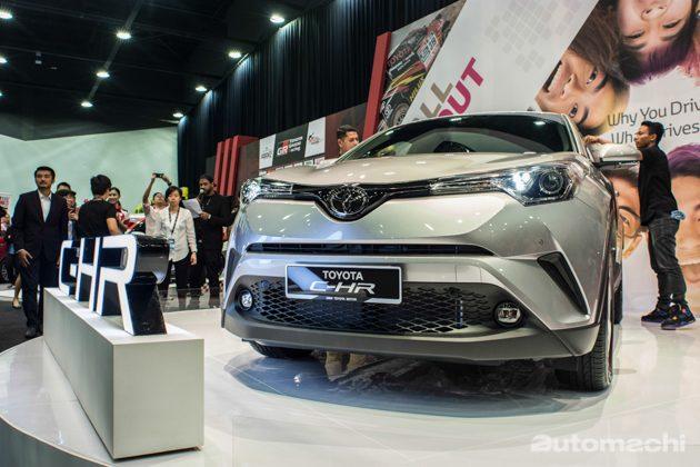 Toyota C-HR 正式于我国公路进行测试!