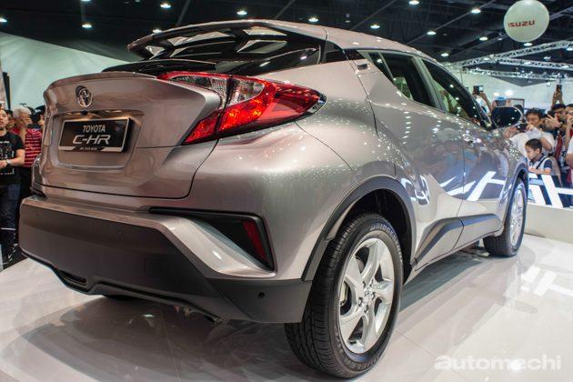Toyota C-HR 大马版预计不会采用1.5L自然进气引擎!