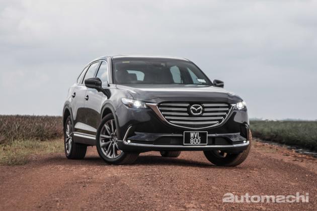 Mazda CX-9 ,新一代蓝天王者再临!