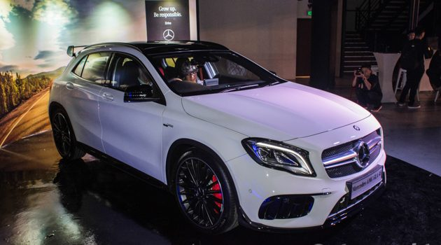 Mercedes-Benz GLA-Class 小改款正式登陆我国,售价由RM 239,888起!