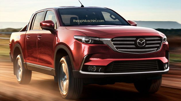 Mazda 将和Isuzu开发新一代的皮卡车型!