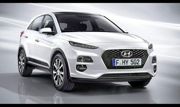 Hyundai Kona 6月发布!指定对手C-HR!