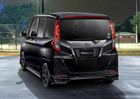 Toyota Roomy TRD ,帅气的小K-car!