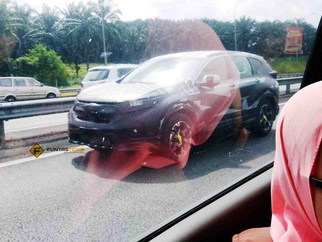 Honda CR-V 2017 本地规格曝光,7人座将登场!