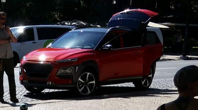 Hyundai Kona 清晰无遮掩谍照曝光!你喜欢这样的Hyundai吗?