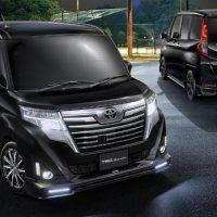 Toyota Roomy TRD ,帅气的小车!