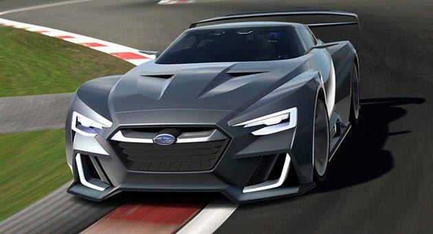Subaru BRZ STI 2018 将搭载2.0L水平对卧涡轮引擎!