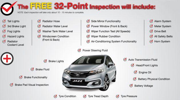 佳节来临, Honda Malaysia 提供免费汽车检验服务,不限汽车品牌!