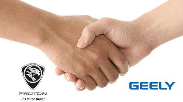 Proton 正式和浙江吉利控股集团签署合作协议!