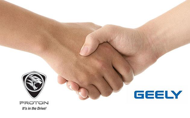 Proton 正式和浙江吉利控股签署合作协议!