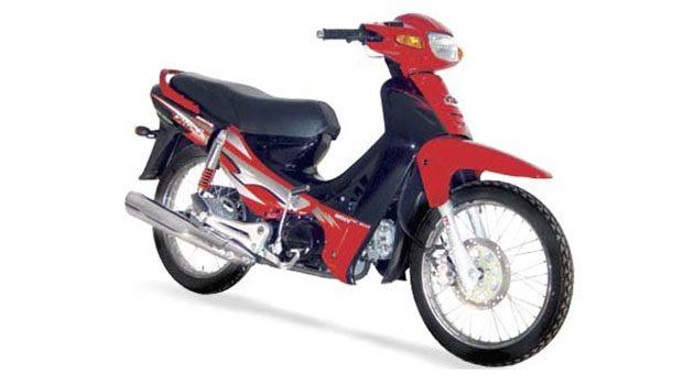 首款国产摩托车, Modenas Kriss 110 !