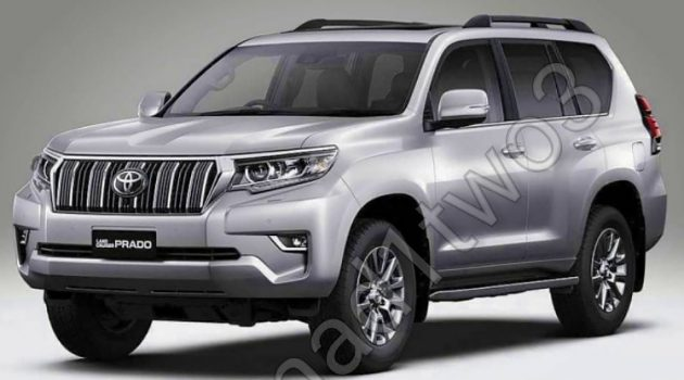 Toyota Land Cruiser Prado 小改款再度流出照片,这次露得更全面!