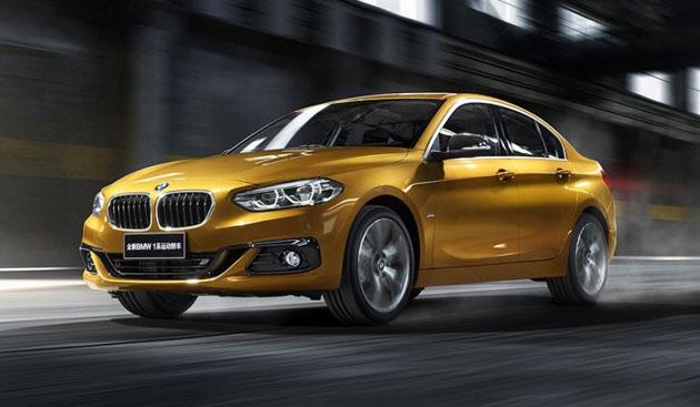 BMW 1 Series Sedan 将出口,我国有希望贩售?