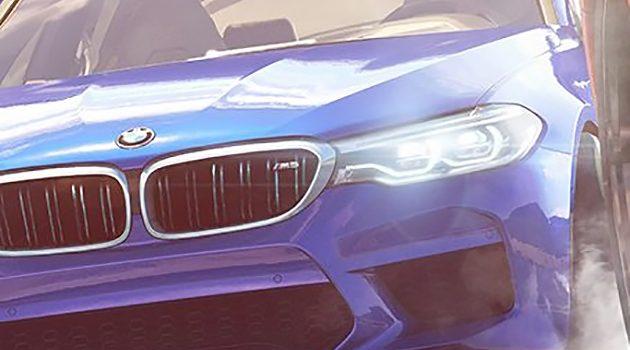 Need For Speed宣传照出炉, BMW M5 2018 不小心露脸!