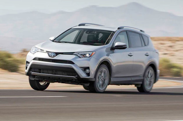 美国十大热卖车款, Toyota Rav4 日本车第一!