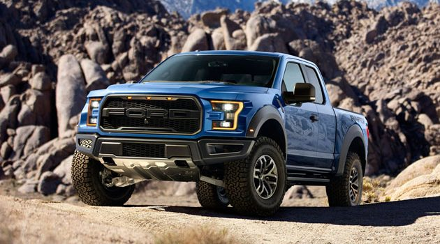 Ford Ranger Raptor 2018 现身?最大马力突破400 hp!