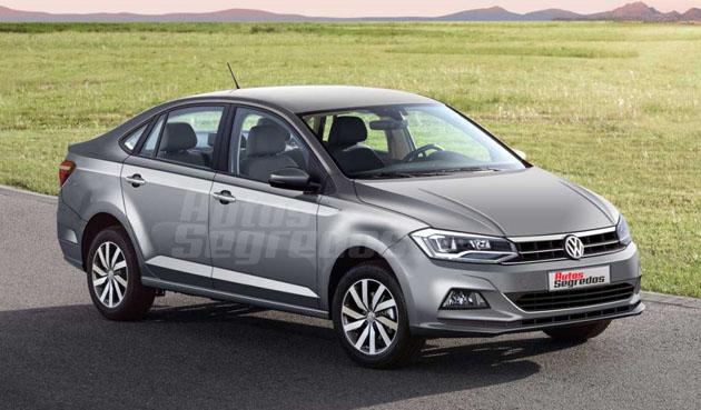 Volkswagen Vento 2018 即将登场?搭载1.0L TSI引擎!