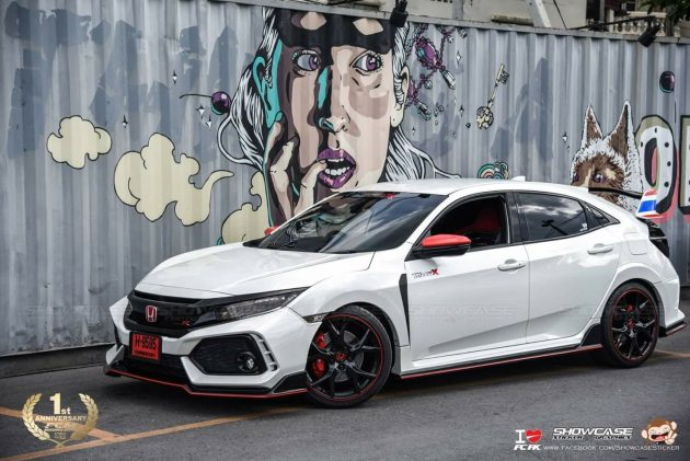 Honda Civic Hatchback Type-R bodykit 现身泰国,泰快了吧?!