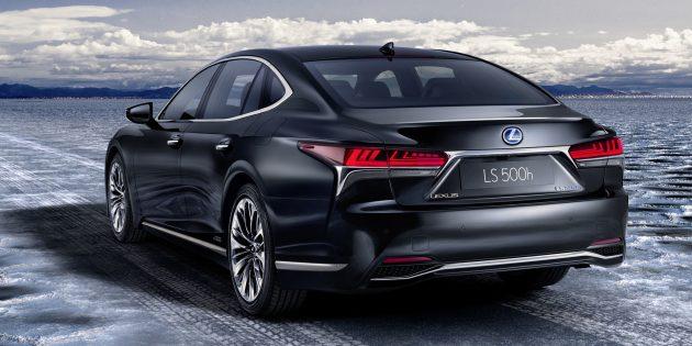 Lexus LS 大改款,全新一代凌志旗舰今年降临,Hybrid版本细节曝光!