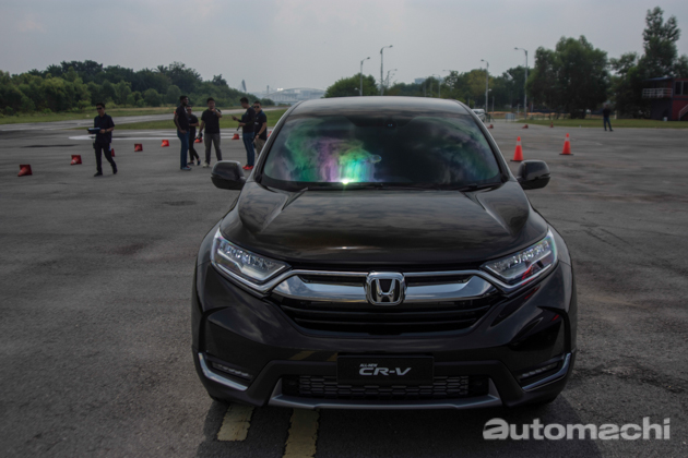 Honda CR-V 2017 率先体验!全方位的进化!