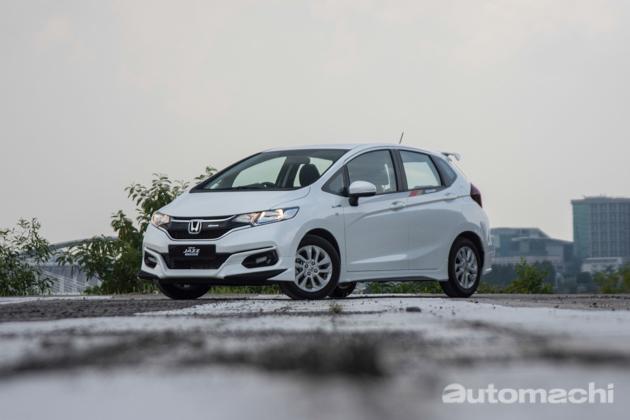 Honda Jazz 2017 再破纪录!已经接获1,300张订单!