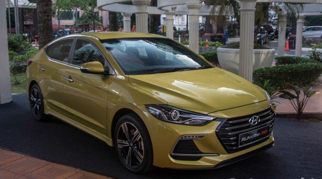 全新 Hyundai Elantra 2017 实车现身,售价由RM 119,899.29起!
