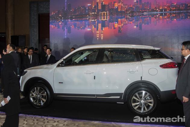 吉利博越将成为双方合作首款车型