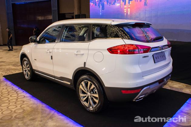 Proton第一辆SUV, Geely Boyue 抢先看!