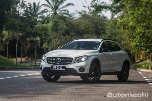Mercedes-Benz GLA200 2017 ,跨界新势力!