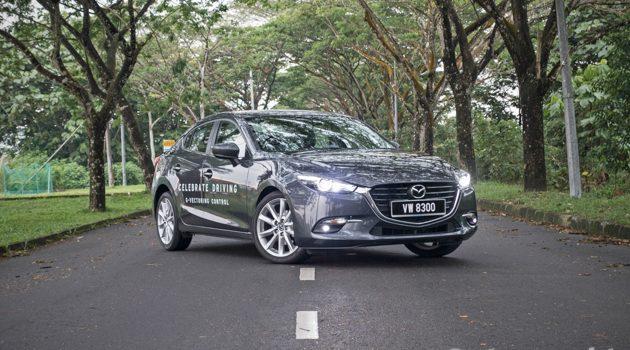 Mazda3 GVC 2017 试驾分享,人马一体很好开!