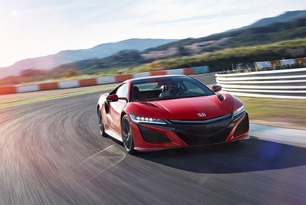 Honda NSX 3.5 V6 引擎获得EOTY 2017大奖!