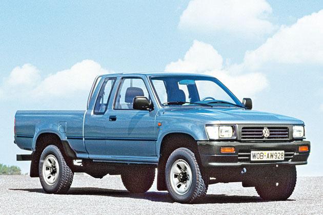 你不知道的事:VW曾经rebadge过 Hilux ?