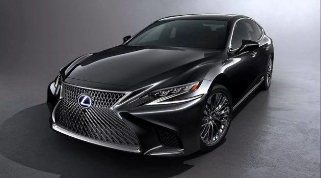 Lexus LS 2018 全新一代旗舰今年降临,Hybrid版本细节曝光!