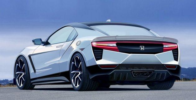Honda S2000 后继车构想图曝光,车尾造型会长这样吗?