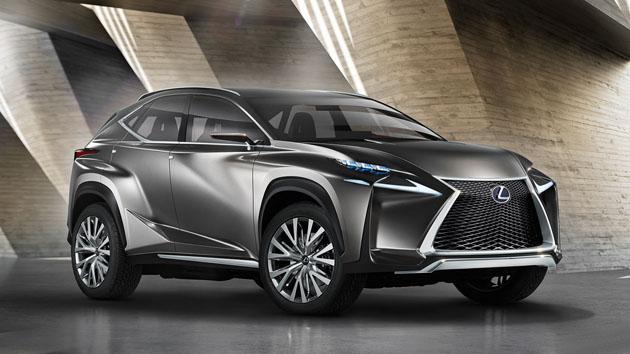 Lexus RX 2018 新增7人座版本,2018年北美车展登场!