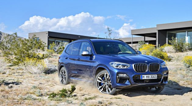 BMW X3 2018 正式发表,宝马SUV终于也有豪华Feel!