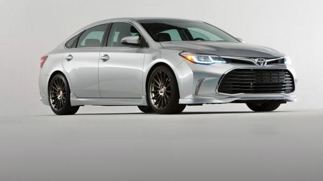 Toyota Avalon 2018 现身,车头灯很帅气!