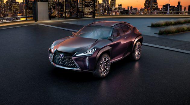 Lexus UX 来了!全新Lexus 精品SUV车型11月亮相东京车展!