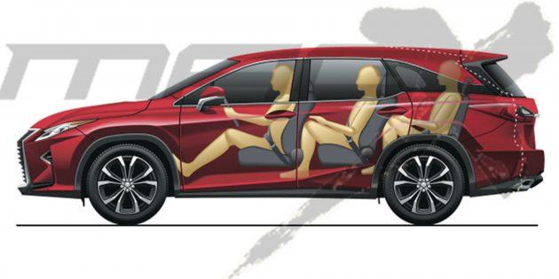 Lexus RX 休旅车系7人座版本将于今年东京车展亮相!