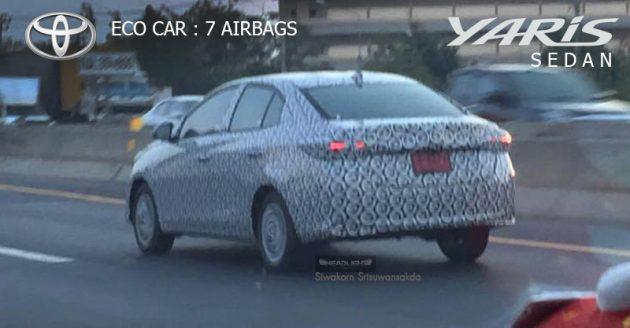 Toyota Vios 新世代要来了?Yaris Sedan 或8月在泰国发表!
