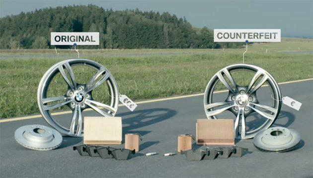 Fake Parts 仿冒零件便宜又长一样? BMW实测告诉你差别在哪里!
