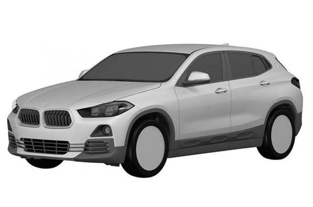 BMW X2 专利图曝光,Evoque和GLA又有新对手了!